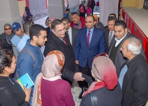 """نائب محافظ الإسكندرية يتابع أعمال """"نور حياة"""""""