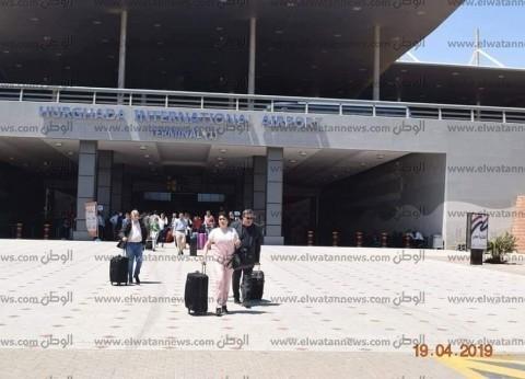 """مطار الغردقة يستقبل أول رحلة """"شارتر"""" قادمة من ألبانيا"""