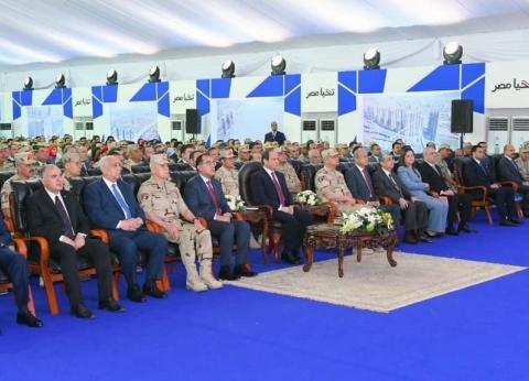 """السيسي يفتتح 4 مشروعات قومية جديدة عبر """"فيديو كونفرانس"""""""