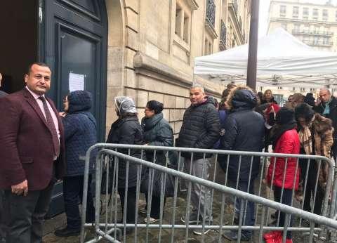 برلماني: المصريون توافدوا على سفارة باريس رغم كثافة الأمطار للتصويت