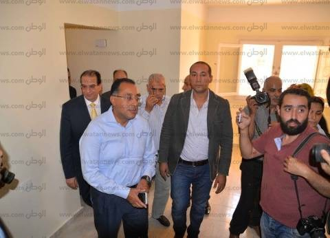 وزير الإسكان يتفقد مشروعات الوزارة بمدينة دمياط الجديدة
