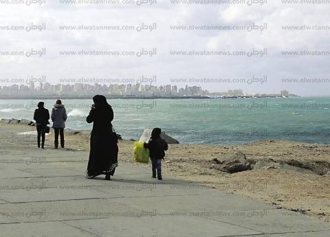 أمطار غزيرة على الإسكندرية لليوم الخامس قبل وصول نوة أعياد الميلاد