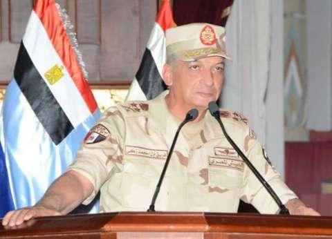وزير الدفاع يهنئ الرئيس السيسي بـ عيد تحرير سيناء: سنظل أوفياء للوطن