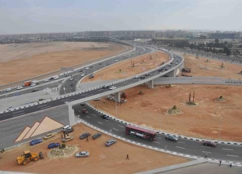 """""""الطرق والكباري"""" تنهي أعمال الحماية اللازمة لجسر طريق العزبة في دمياط"""