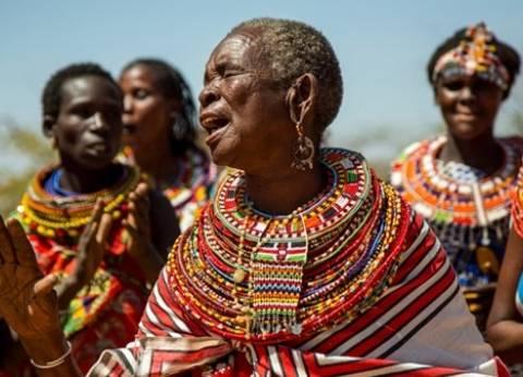 بالصور  قرية للنساء فقط في كينيا