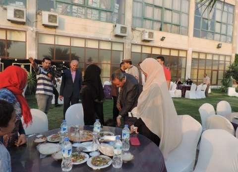 """""""أمن القليوبية"""" ينظم حفل إفطار لأسر الشهداء"""