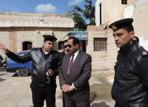 مدير أمن الإسكندرية يتفقد وحدة مرور طوسون وقسم شرطة المنتزه ثان