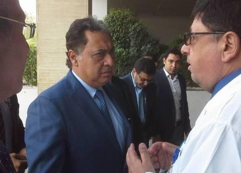 وزير الصحة يعين حازم الفيل مديرا لمعهد ناصر خلفا لزعزوع