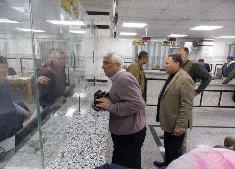 رئيس دسوق يتابع سير العمل في المركز التكنولوجي لخدمة المواطنين
