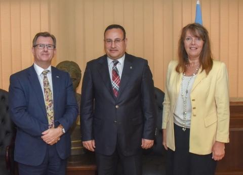 محافظ الإسكندرية يستقبل المبعوث التجاري البريطاني لتعزيز العلاقات