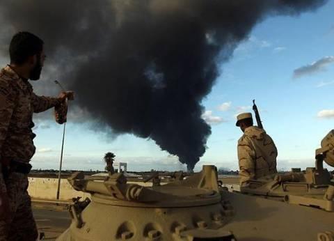 """الجيش الليبي يعلن سيطرتة على """"كوبري الزهراء"""" و""""الساعدية"""""""