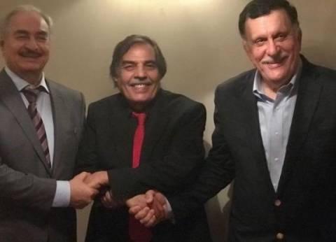 وساطة بين السراج وحفتر للتوافق على بنود مبادرة فرنسا حول ليبيا