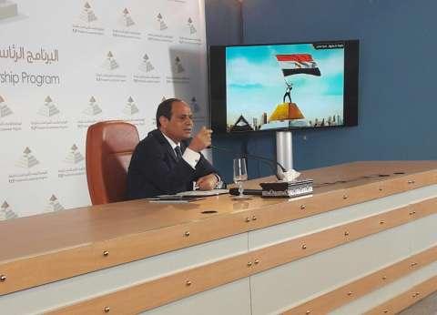 السيسي: مستحيل حد يقدر يحبط قدرة وإرداة الشعب المصري