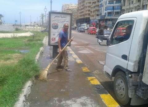 حملة نظافة وتجميل حي وسط بالإسكندرية