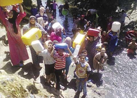 استمرار أزمة مياه الشرب بكفر البطيخ والبصارطة في دمياط