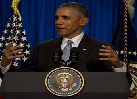 عاجل| وصول أوباما لساحة ماكورميك لإلقاء آخر خطاب رئاسي
