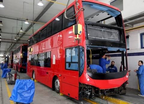 """هيئة النقل العام في الإسكندرية تتعاقد مع 4 أتوبيسات سياحية بـ""""دورين"""""""