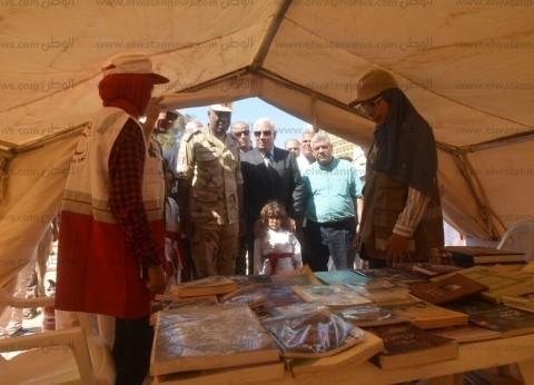 محافظ مطروح يتفقد مخيمات إيواء الأسر المتضررة من سيناريو وقوع زلزال