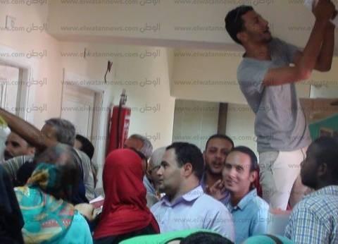 بالصور| توافد المواطنين بمديرية التربية والتعليم لاستكمال أوراق الـ 500 وظيفة بجنوب سيناء