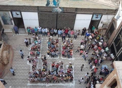 """كنيسة مارمرقس بسوهاج تحتفل بمئوية """"مدارس الأحد"""""""