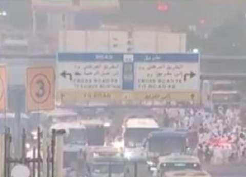 """""""الدفاع المدني"""" السعودي:  لا مصابين بين الحجاج نتيجة الرياح والأمطار"""