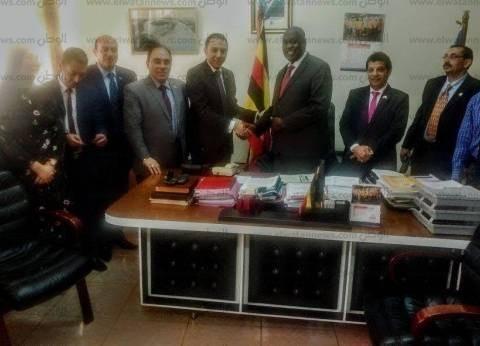 مبعوث السلام بالشرق الأوسط: إنشاء أول مصنع مصري لتجميع عدادات المياه بأوغندا