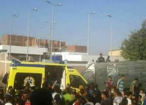 مصرع 12 وإصابة 7 آخرين في حادث تصادم بصحراوي المنيا