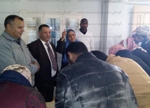 """""""المصريين الأحرار"""" ينظم امتحان محو الأمية برأس الحكمة مجانا"""