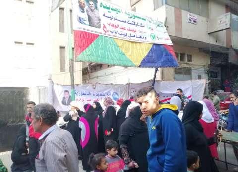 تزايد إقبال المواطنين على لجان بولاق الدكرور في آخر أيام الاستفتاء