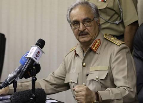 حفتر: قطر تحشد قوات من مالي والنيجر لإرهاب الشعب الليبي