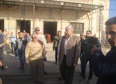 """مدير أمن شمال سيناء يتفقد لجان انتخابات """"النواب"""" التكميلية في العريش"""