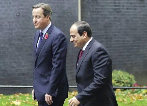 السيسي يلتقي عددا من أعضاء البرلمان البريطاني