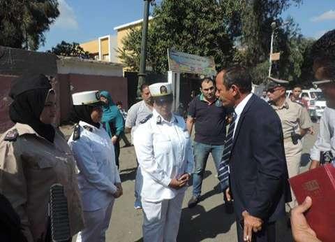 مدير أمن الغربية يتفقد الشرطة النسائية وتأمين مدارس وكليات جامعة طنطا