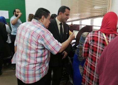 عميد معهد البحوث في جامعة القاهرة يتفقد معامل التنسيق