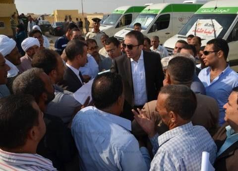محافظ بني سويف يكلف برصف مدخل قرية في الفشن بقيمة 800 ألف جنيه