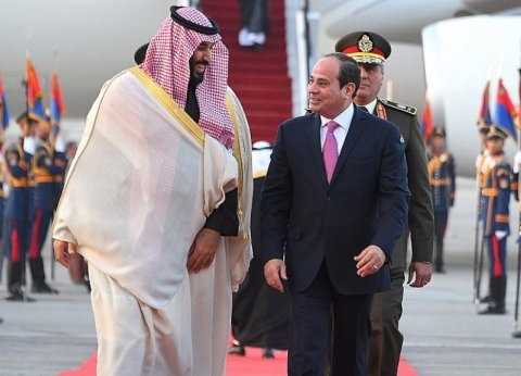 ولي العهد السعودي يبعث برقية شكر للرئيس السيسي