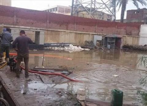 مصرع شخص صعقا بالكهرباء بسبب الأمطار في مطروح