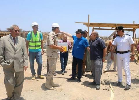 """محافظ جنوب سيناء يتفقد إنشاءات جامعة الملك سلمان: """"الحلم يتحقق"""""""