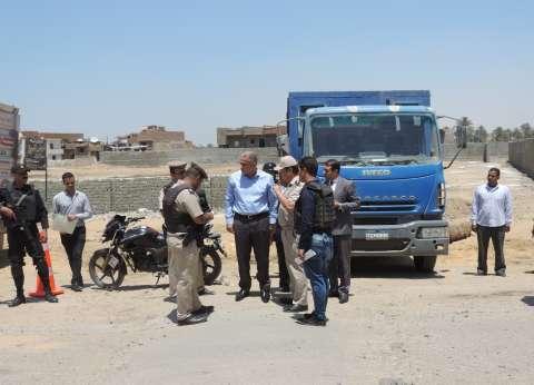 بالصور| مدير أمن الفيوم يتفقد تمركزات أمنية