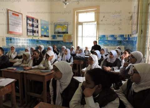 تعليم أسيوط أثناء جولات المتابعة: مدارس القرى أكثر التزاما من المدينة
