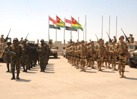 انطلاق التدريب المشترك لمكافحة الإرهاب بمشاركة دول الساحل والصحراء بمصر