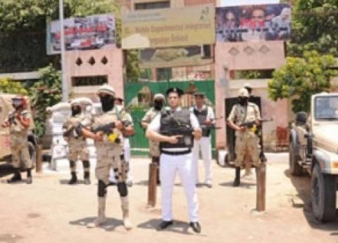 قوات الجيش والشرطة يتسلمان المقرات الانتخابية بالفيوم