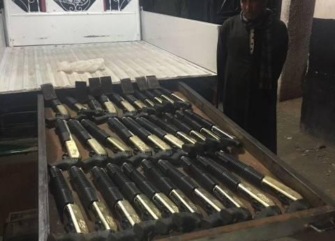 ضبط 180 طربة حشيش و318 علبة أقراص مخدرة بالغربية قبل ترويجها بالعيد