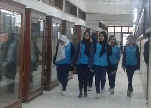جامعة قناة السويس تستقبل طلاب مدرسة 24 أكتوبر الإعدادية للغات
