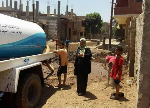 إصلاح عطل بخط مياه أغرق شوارع عزبة الوجاك في المنيا