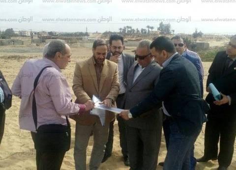 محافظ الشرقية يتفقد أراضي أملاك الدولة بمدينتي الصالحية الجديدة والحسينية
