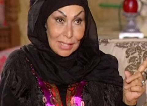 سهير البابلي باكية: عقلي لم يستوعب خبر وفاة شادية حتى الآن