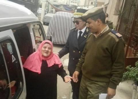 """امن القليوبية يوفر سيارات لنقل نزلاء """"دار المسنين"""" إلى اللجان"""
