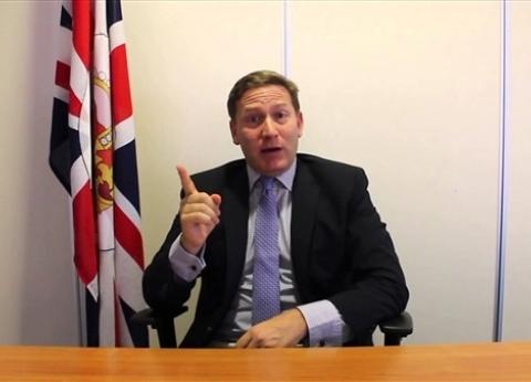 بالفيديو| المتحدث باسم الحكومة البريطانية: الأزهر الشريف منارة للعلم