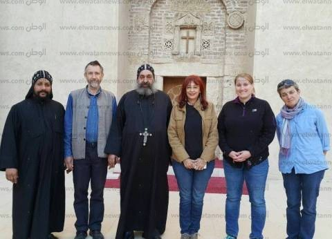 """""""الكنيسة"""": إعداد فيلم وثائقي عن ترميم الدير الأحمر لعرضه في أمريكا"""